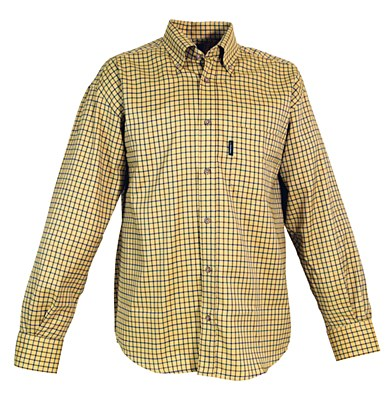 Le chameau Wells Shirt Yellow