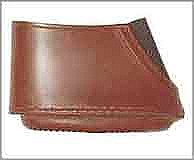 Leather slip on recoil pad