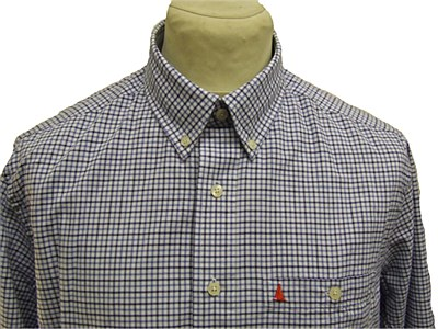 Musto Oxford Shirt Blue Check