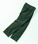 Laksen Moleskin Trousers Green