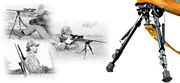 Harris Bipod Swivel LM 9-13 in