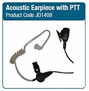 Acoustic Earpiece with PTT