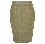 Barbour Clover Tweed Skirt