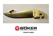 Boker Optima Gut Hook Blade