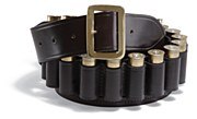 Bridle Leather Cartridge Belt
