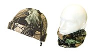 Camo Fleece Neck Gaiter/Hat