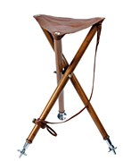 Club Interchasse Arthy Leather Tripod Shooting Stool
