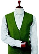 Laksen Scottdale Sleeveless Mens Cardigan