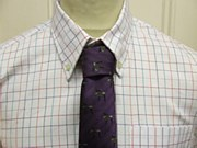 Laksen Silk Tie Heather