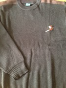 Le Chameau Chene Round Neck Jumper With Pheasant