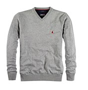 Musto V-Neck Sweater Titanium