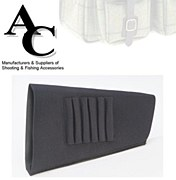 Neoprene Stock Cover Black