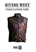 Rivers West Cold Canyon Vests