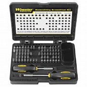 Wheeler 72 Piece Professional Gunsmiths Screwdriver Set