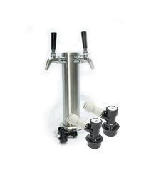 Keg King Two Faucet Tower Kit