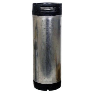 Used 5 Gallon Ball Lock Keg With Rubber Handles