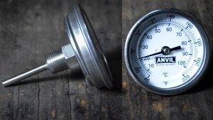 """Anvil Thermometer - 1/2"""" MPT x 2.5"""" Stem (°F)"""