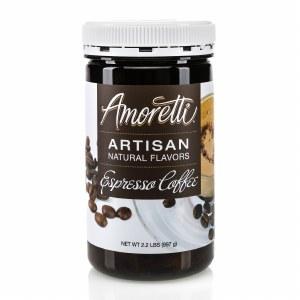 Amoretti Natural Espresso Coffee Artisan Flavor (8 oz)