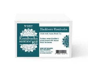 Brewers Best Blackberry Assam Black Tea Kombucha Ingredient Kit
