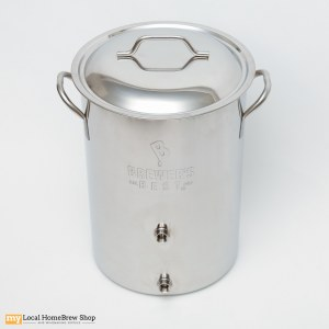 Brewers Best Pot With Two Welded Ports - 8 Gallon