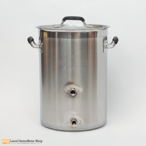 Brewers Beast Pot With Two Welded Ports - 8 Gallon