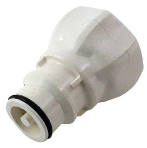 "Polysulfone Disconnect - 3/4"" FGHT x Male Plug"