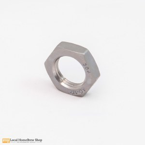 "Stainless Lock Nut - 1/2"" MPT"