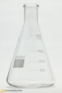 2 Liter Erlenmeyer Flask