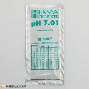 Hanna pH Meter Buffer Solution: 7.01 (20 mL)