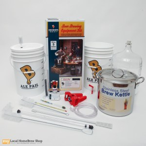 Brewers Beast Kit With Glass Carboy & Brew Pot
