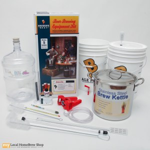Brewers Beast Kit With PET Carboy And Brew Pot
