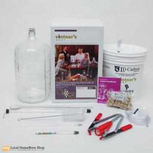 Vintners Best Deluxe Winemaking Equipment Kit With Glass Carboy (6 gal)