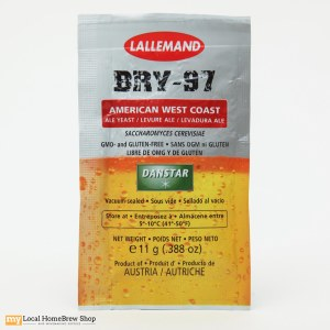 Lallemand BRY-97 American West Coast Ale Yeast (11 g)