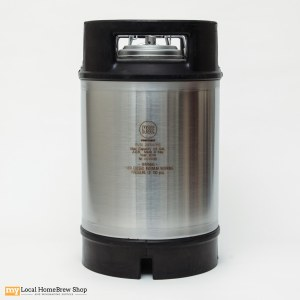 AEB 2.5 Gallon Ball Lock Keg With Rubber Handles