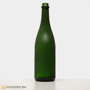 750 mL Green Champagne Bottles (12/case)