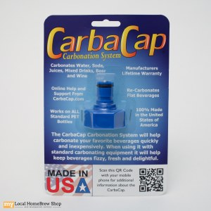 Carbonation Cap - Plastic