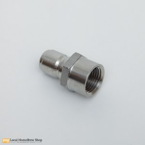 "Stainless Disconnect - 1/2"" MPT x Female Socket"