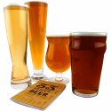 Classic Beer Glass Collection With Tasting Booklet
