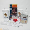 Brewers Beast Kit With Glass Carboy And Brew Pot