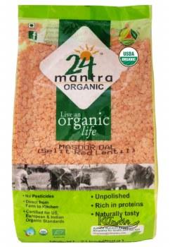 24 Mantra Organic Masoor Dal 1lb