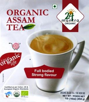 24 Mantra Organic Assam Tea 1lb