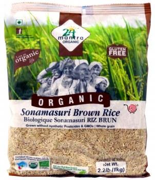 24 Mantra Organic Brown Sona Masoori 1kg