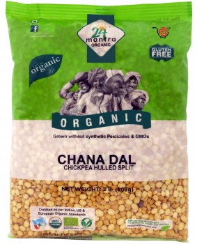 24 Mantra Organic Chana Dal 2lb