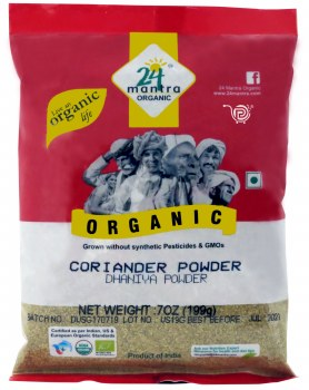 24 Mantra Organic Corriander Powder 200g