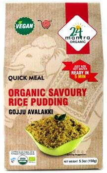 24 Mantra Organic Rice Pudding 150g