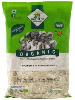 24 Mantra Organic Thick Poha 2lb