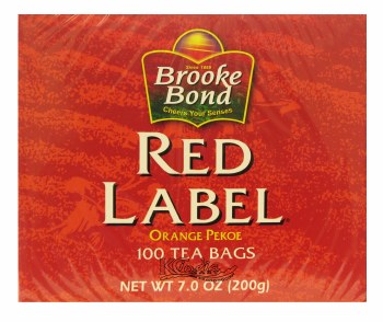 Bb Red Label 72 Tea Bags