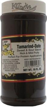 Deep Tamarind Date Chutney 16oz