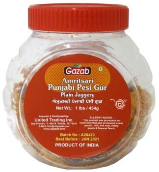 Gazab Punjabi Gur 1lb