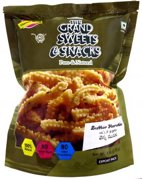 Grand Sweets Butter Murukku 170g